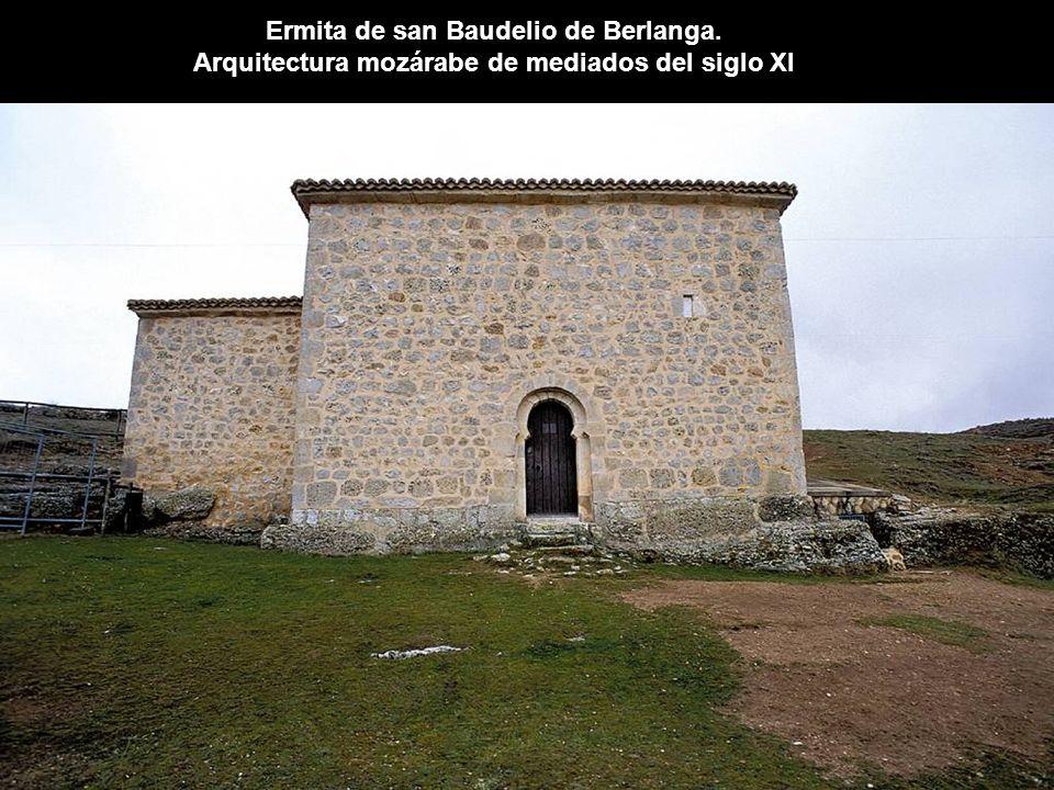 Ermita de san Baudelio de Berlanga.