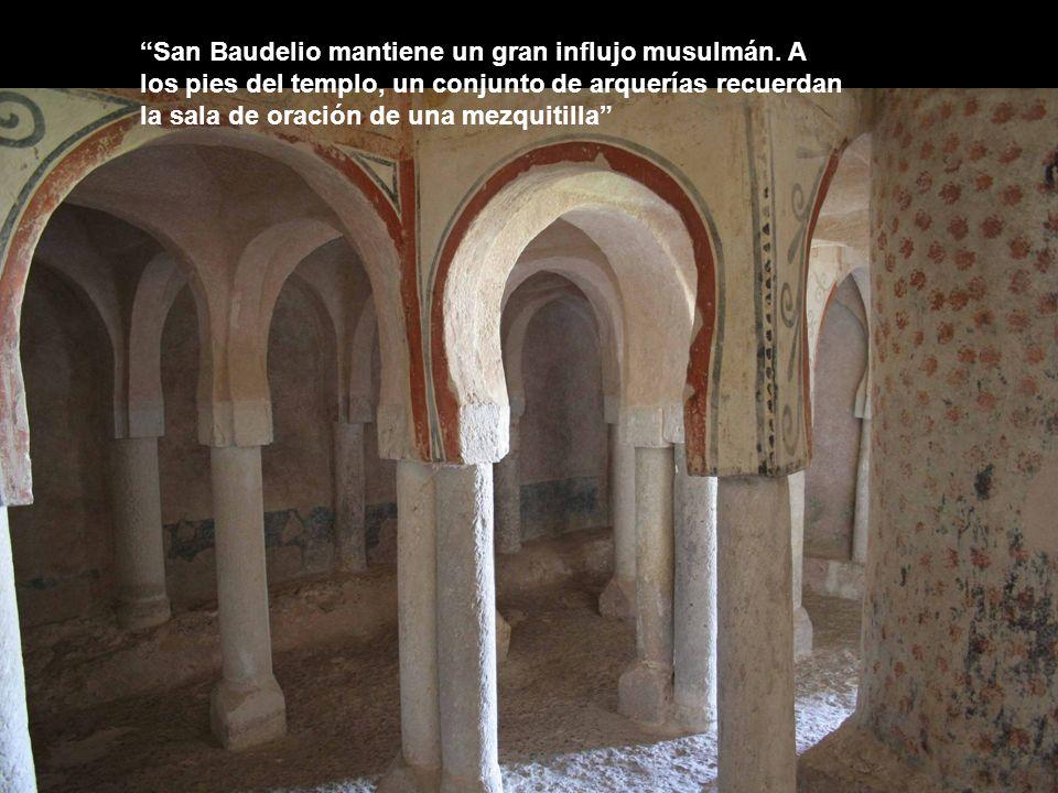 San Baudelio mantiene un gran influjo musulmán