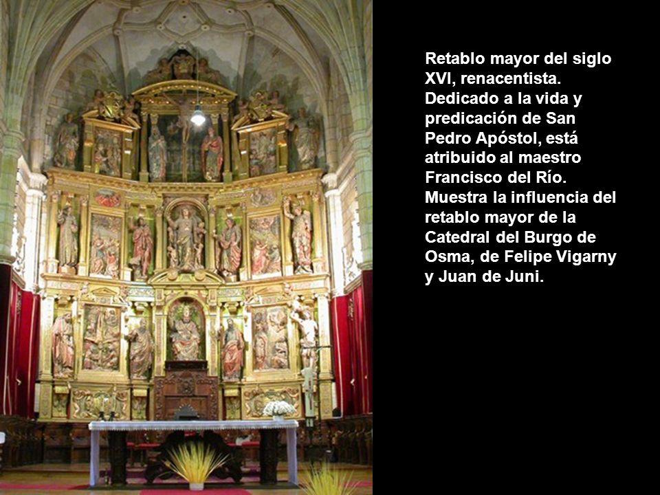 Retablo mayor del siglo XVI, renacentista