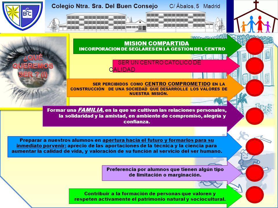 INCORPORACION DE SEGLARES EN LA GESTION DEL CENTRO