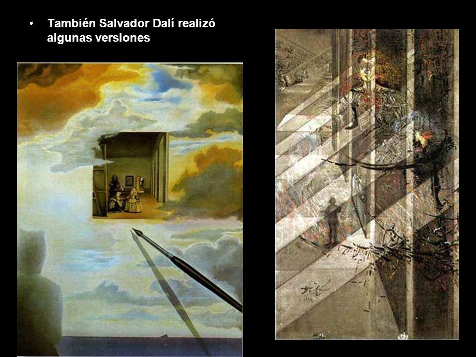 También Salvador Dalí realizó algunas versiones