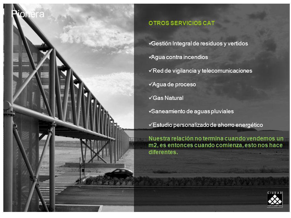 Pionera OTROS SERVICIOS CAT Gestión Integral de residuos y vertidos