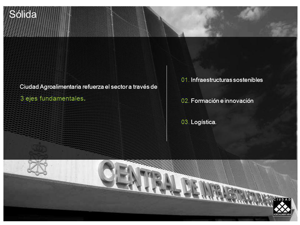 Sólida 01. Infraestructuras sostenibles