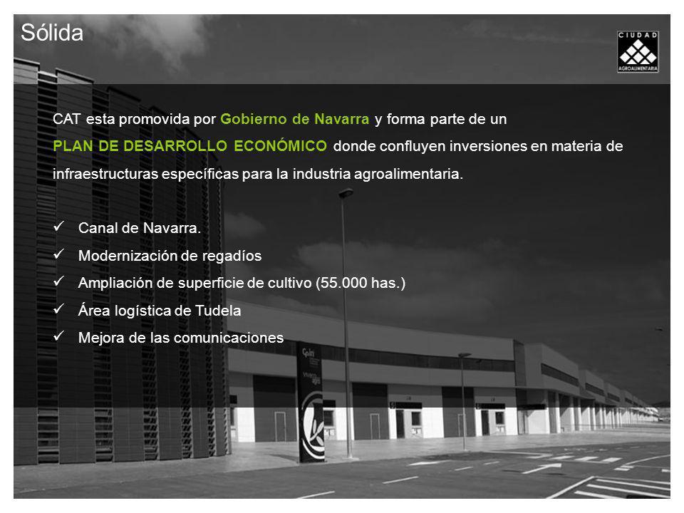 Sólida CAT esta promovida por Gobierno de Navarra y forma parte de un