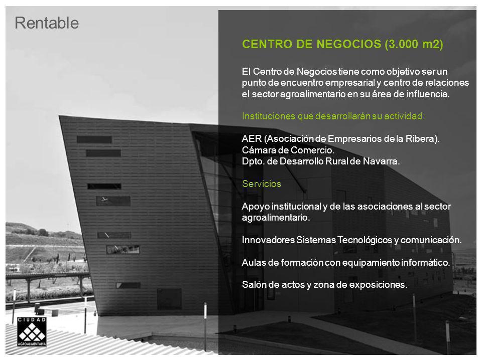 Rentable CENTRO DE NEGOCIOS (3.000 m2)