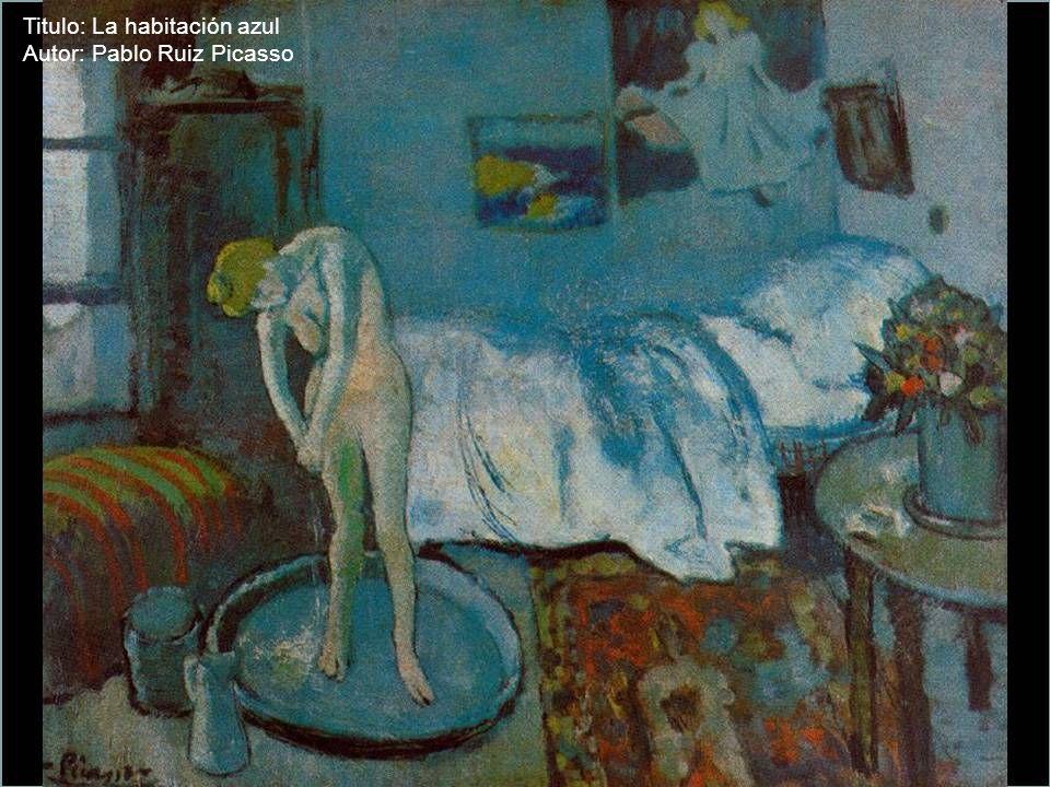 Titulo: La habitación azul