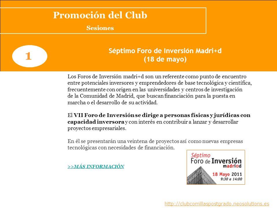 Séptimo Foro de Inversión Madri+d