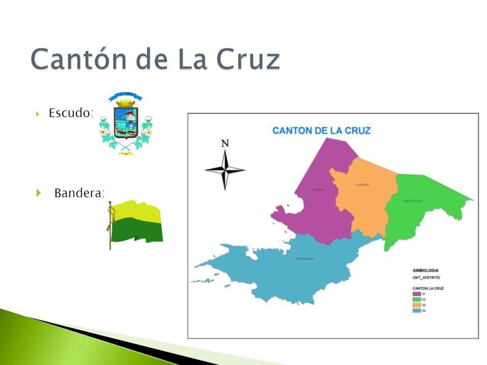 Cantón de La Cruz Escudo: Bandera: