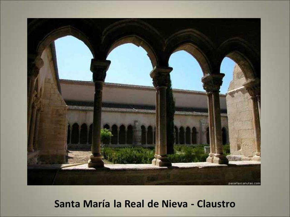 Santa María la Real de Nieva - Claustro