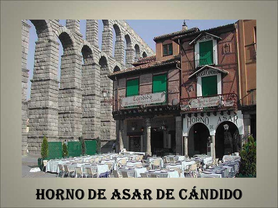 HORNO DE ASAR DE CÁNDIDO