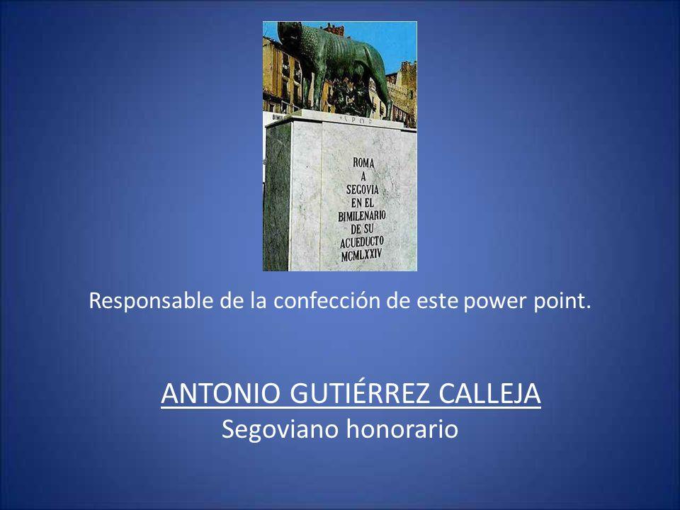 ANTONIO GUTIÉRREZ CALLEJA