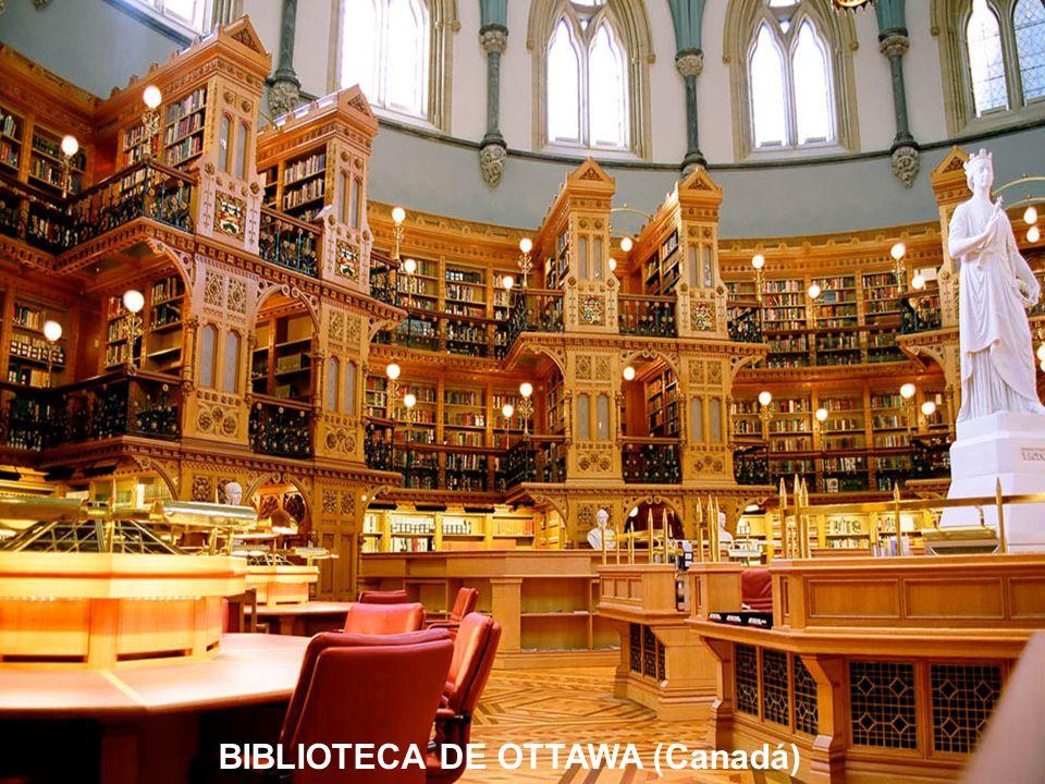BIBLIOTECA DE OTTAWA (Canadá)