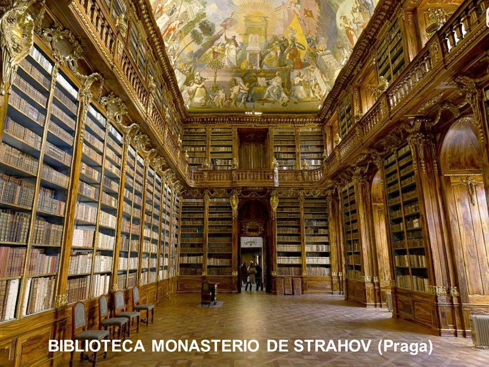 BIBLIOTECA MONASTERIO DE STRAHOV (Praga)