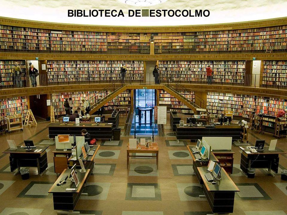 BIBLIOTECA DE ESTOCOLMO
