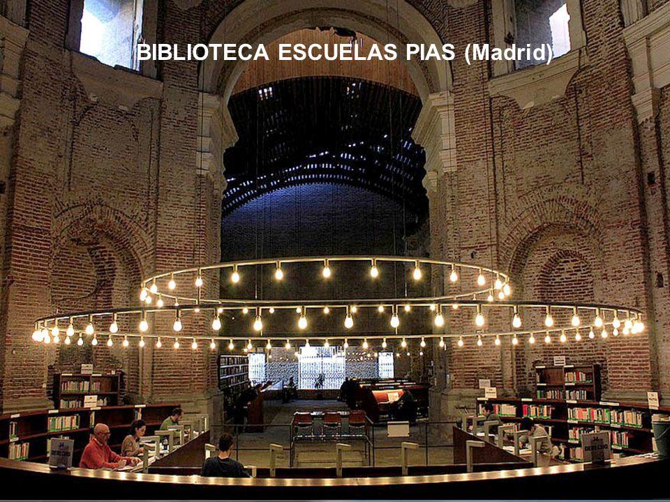 BIBLIOTECA ESCUELAS PIAS (Madrid)