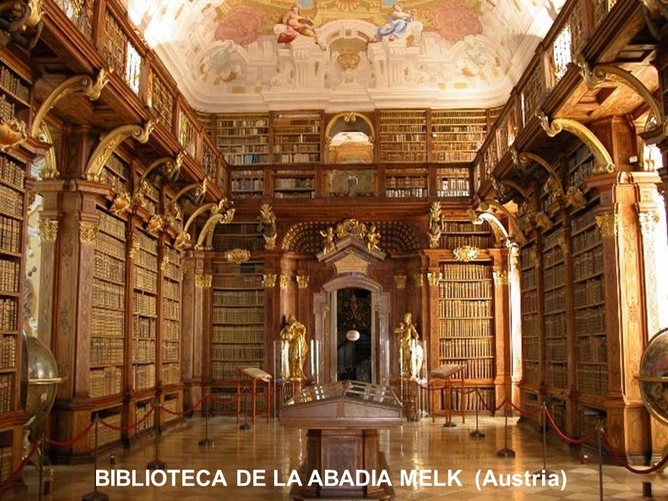 BIBLIOTECA DE LA ABADIA MELK (Austria)