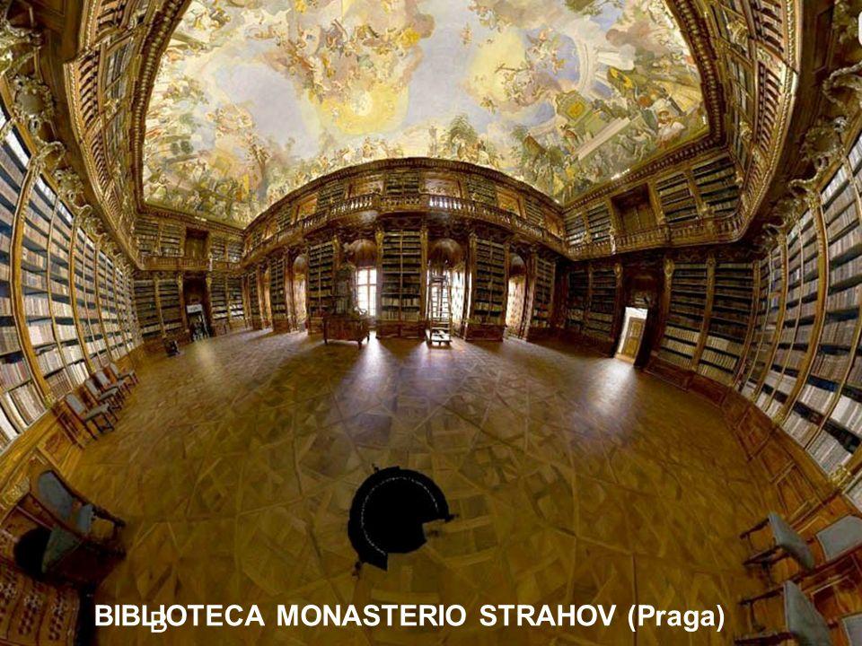 BIBLIOTECA MONASTERIO STRAHOV (Praga)