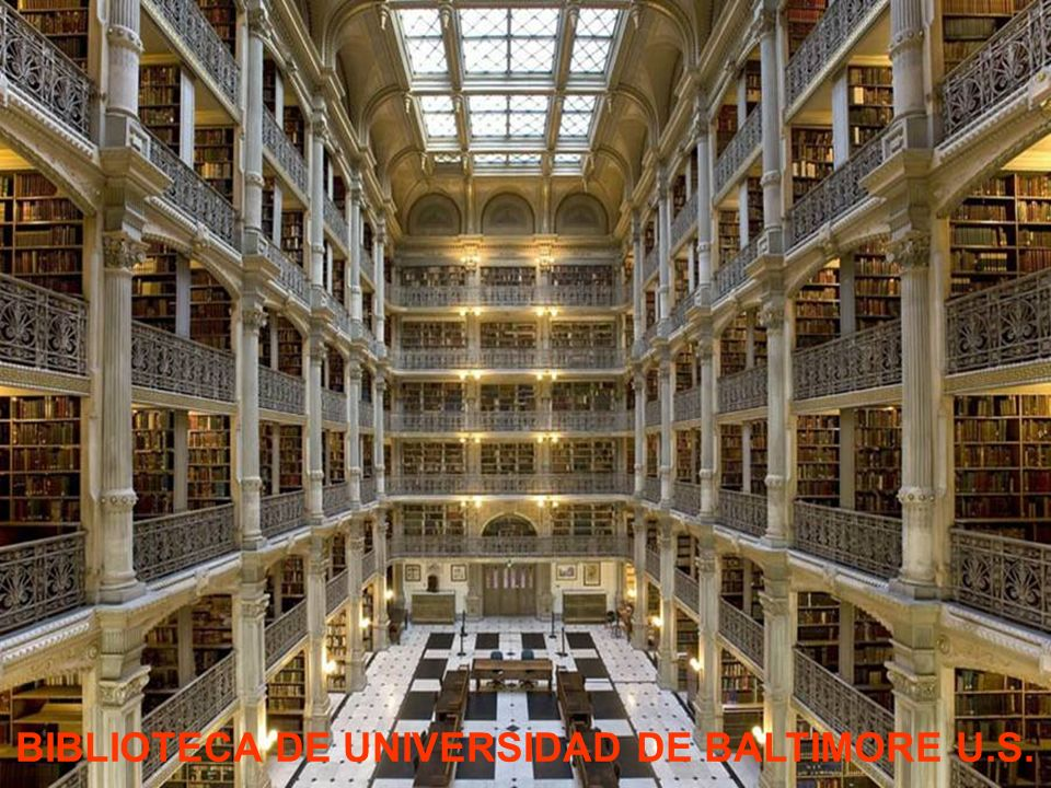 BIBLIOTECA DE UNIVERSIDAD DE BALTIMORE U.S.