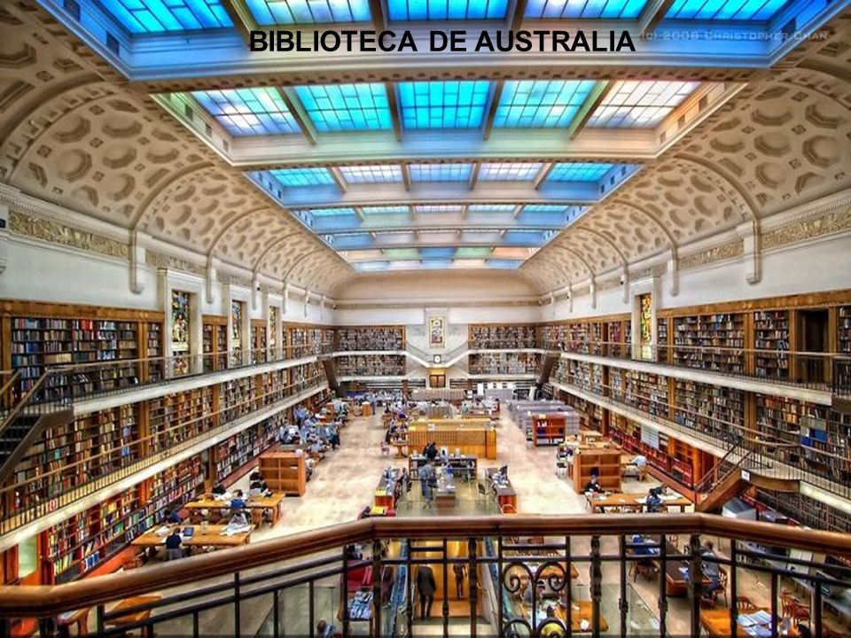 BIBLIOTECA DE AUSTRALIA