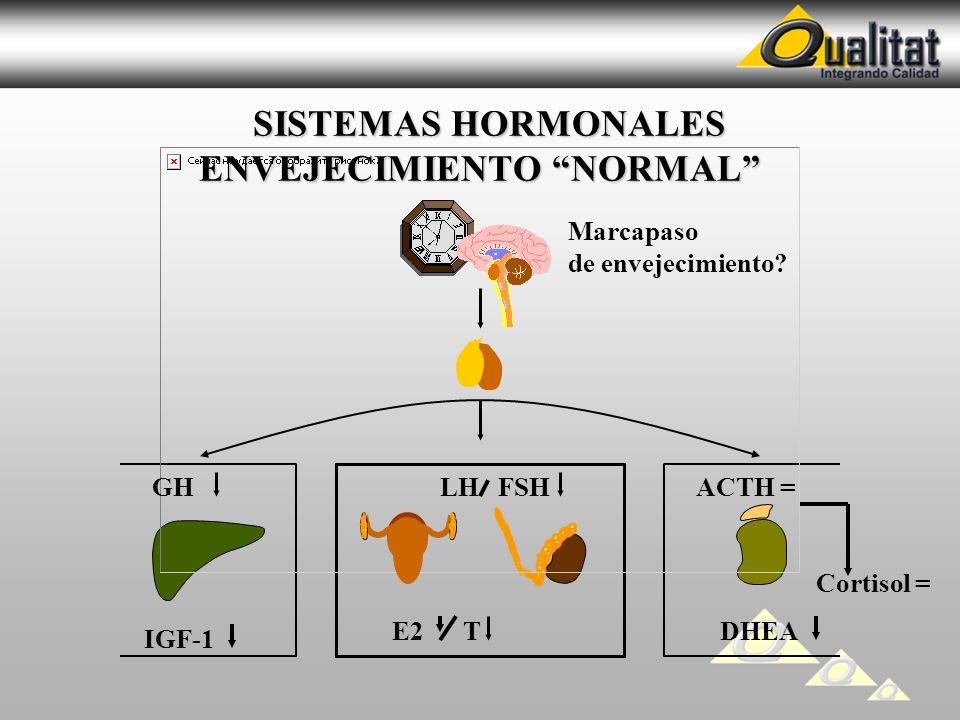 SISTEMAS HORMONALES ENVEJECIMIENTO NORMAL