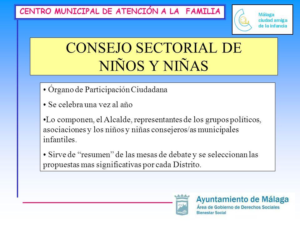 CONSEJO SECTORIAL DE NIÑOS Y NIÑAS