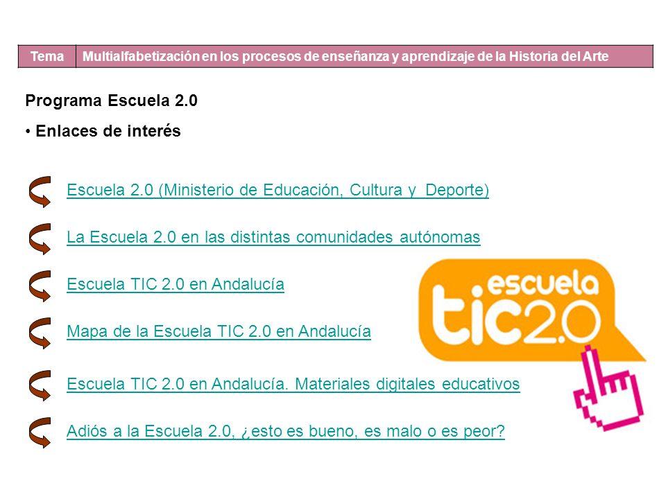 Escuela 2.0 (Ministerio de Educación, Cultura y Deporte)