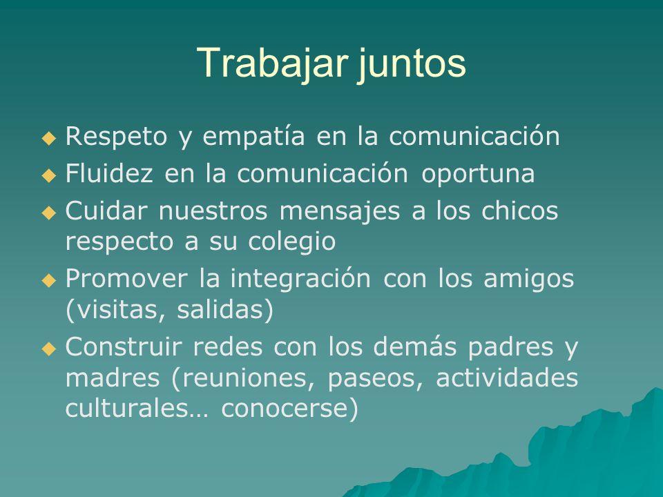 Trabajar juntos Respeto y empatía en la comunicación