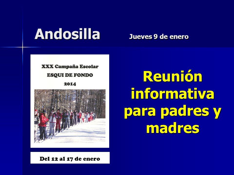Andosilla Jueves 9 de enero