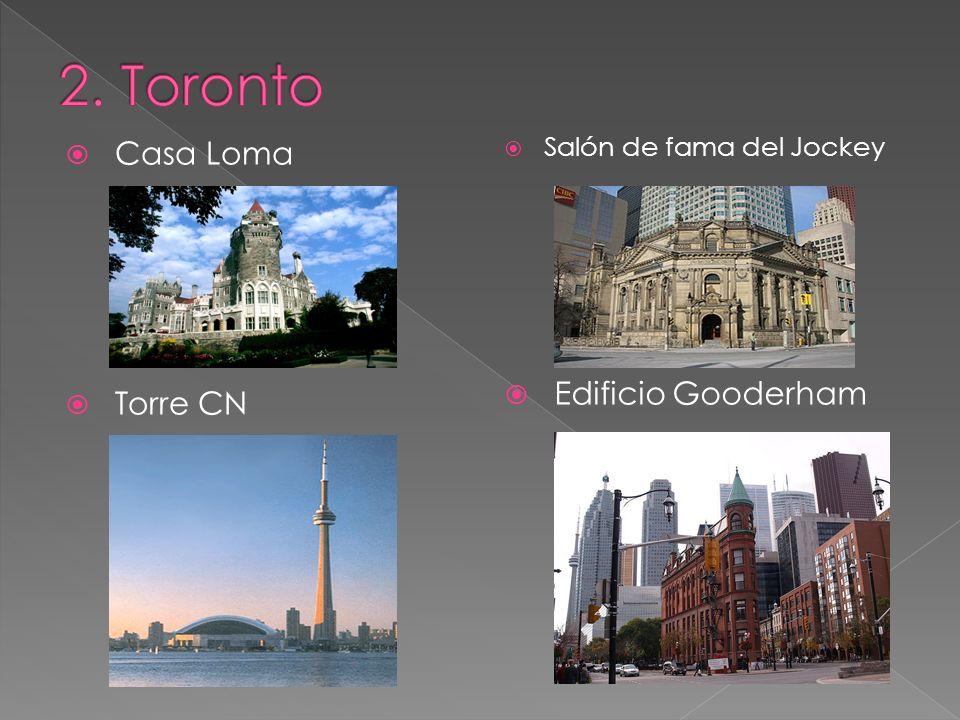 2. Toronto Casa Loma Edificio Gooderham Torre CN