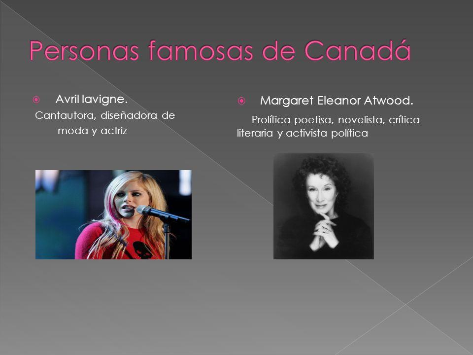 Personas famosas de Canadá