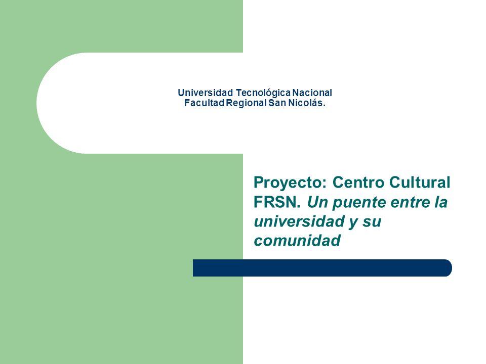Universidad Tecnológica Nacional Facultad Regional San Nicolás.