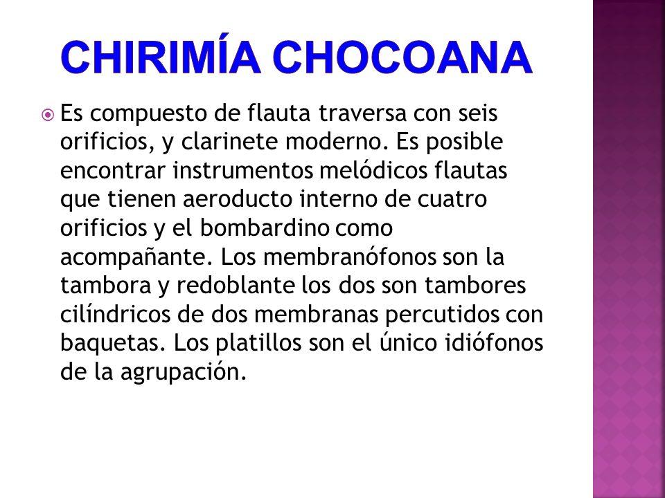 Chirimía Chocoana