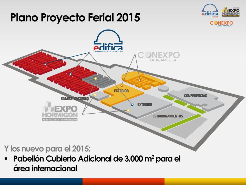 Plano Proyecto Ferial 2015 Y los nuevo para el 2015: