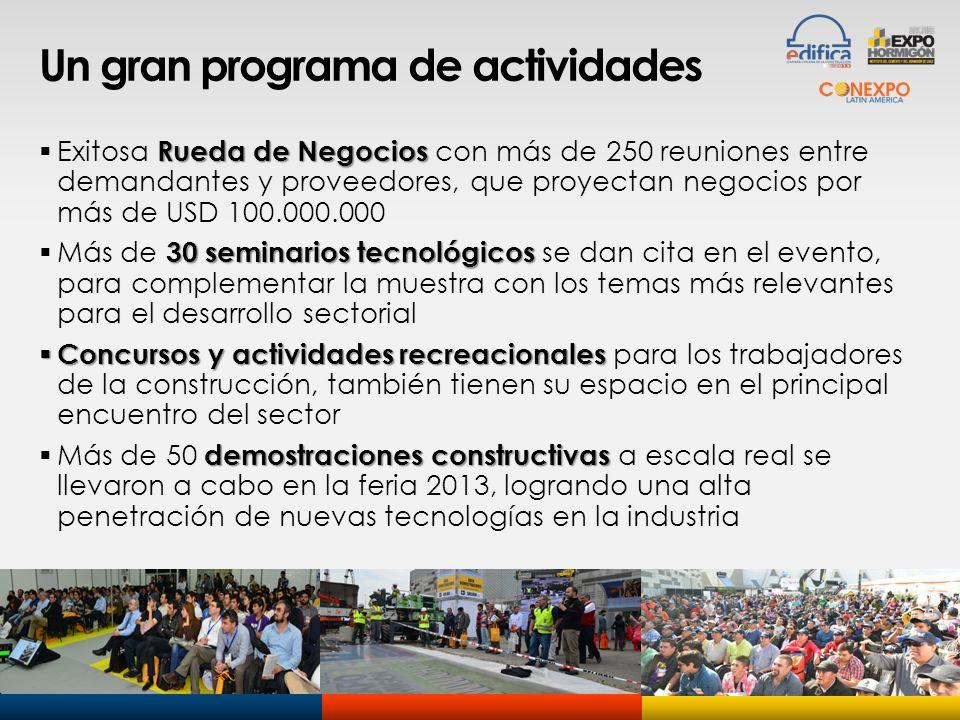 Un gran programa de actividades