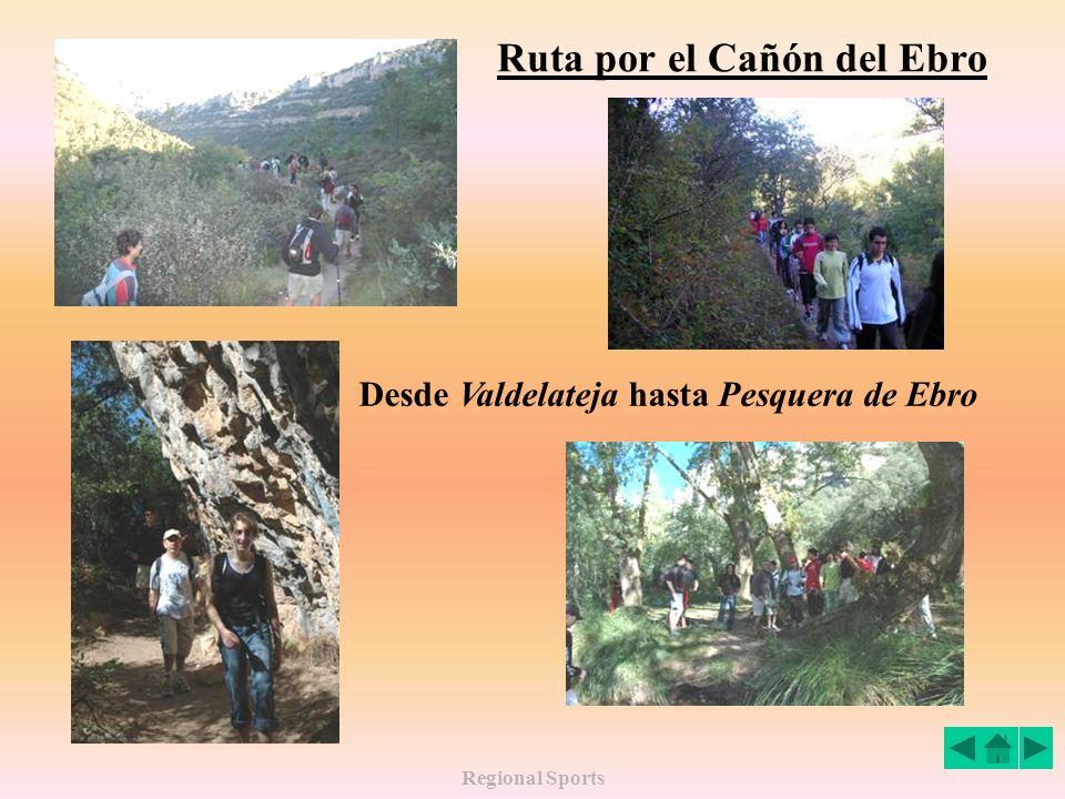 Ruta por el Cañón del Ebro