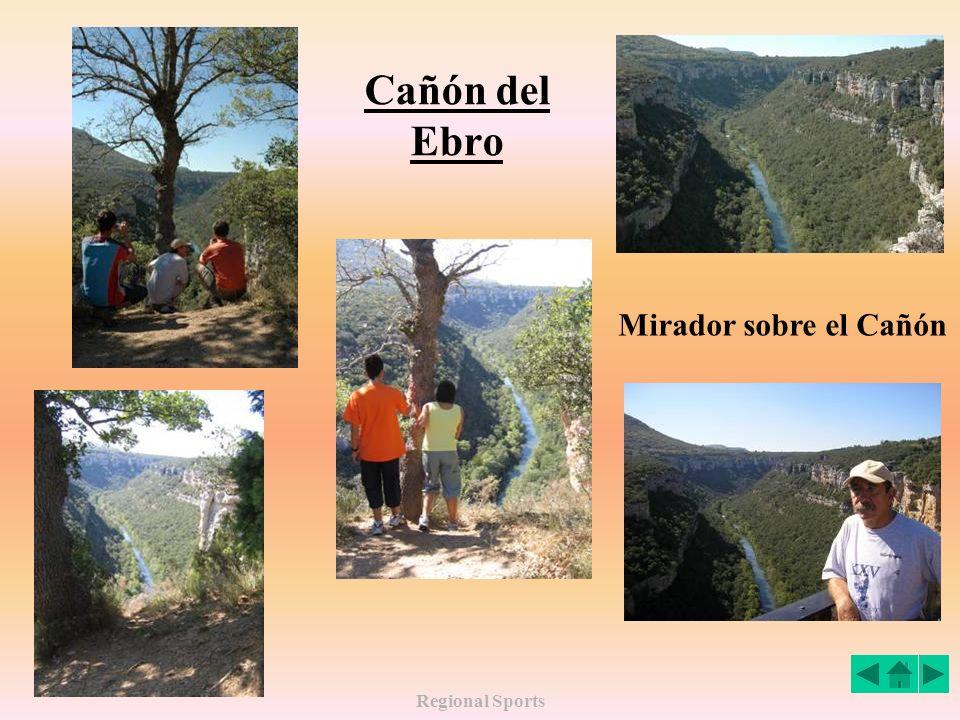 Cañón del Ebro Mirador sobre el Cañón Regional Sports