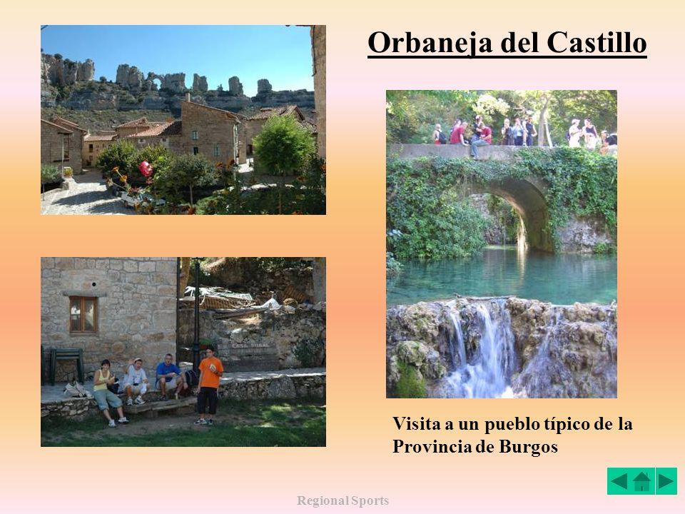 Orbaneja del Castillo Visita a un pueblo típico de la Provincia de Burgos Regional Sports