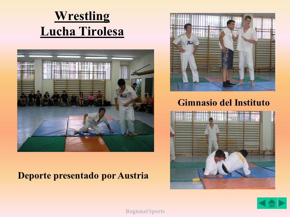 Wrestling Lucha Tirolesa