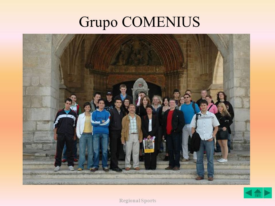 Grupo COMENIUS Regional Sports