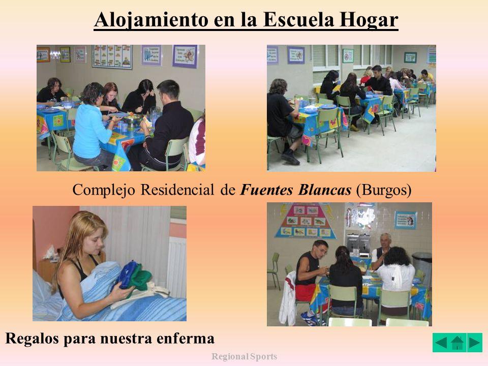 Alojamiento en la Escuela Hogar