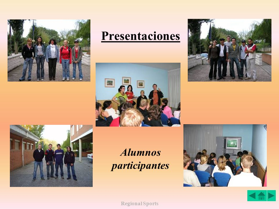 Alumnos participantes