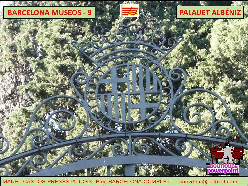 PALAUET ALBÉNIZ BARCELONA MUSEOS - 9