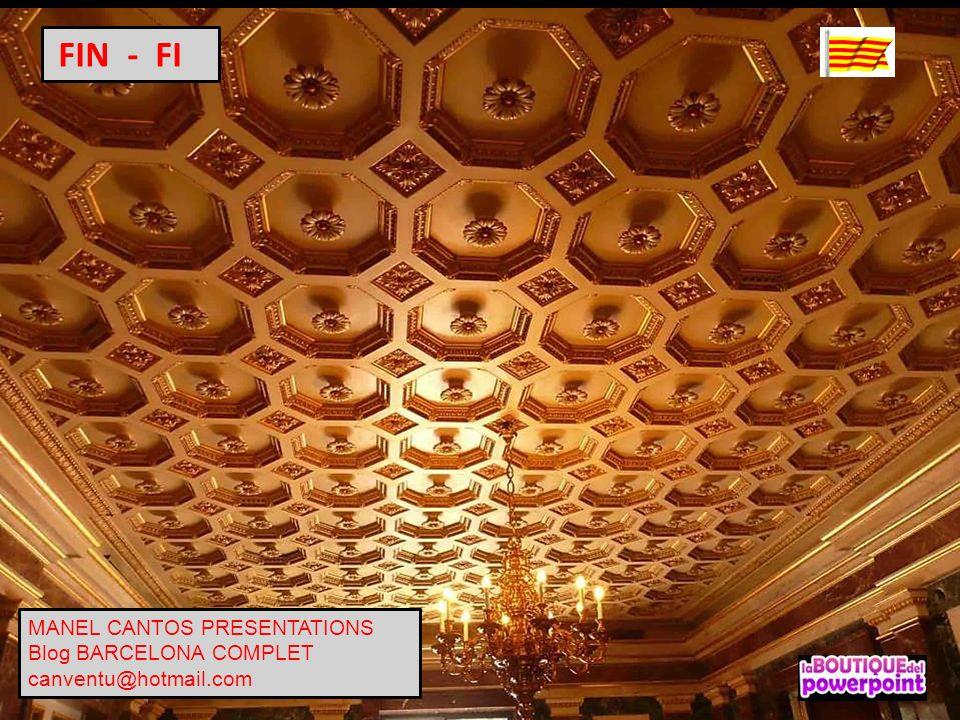 FIN - FI MANEL CANTOS PRESENTATIONS Blog BARCELONA COMPLET