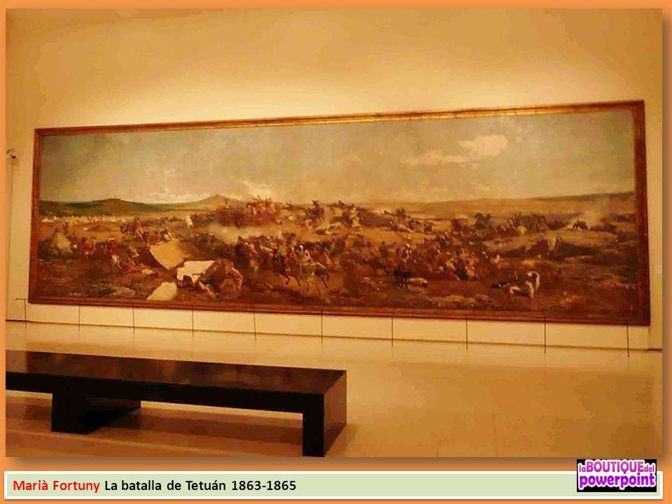 Marià Fortuny La batalla de Tetuán 1863-1865