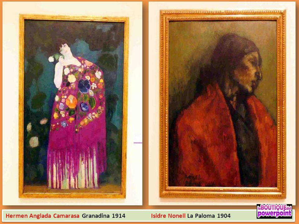 Hermen Anglada Camarasa Granadina 1914 Isidre Nonell La Paloma 1904