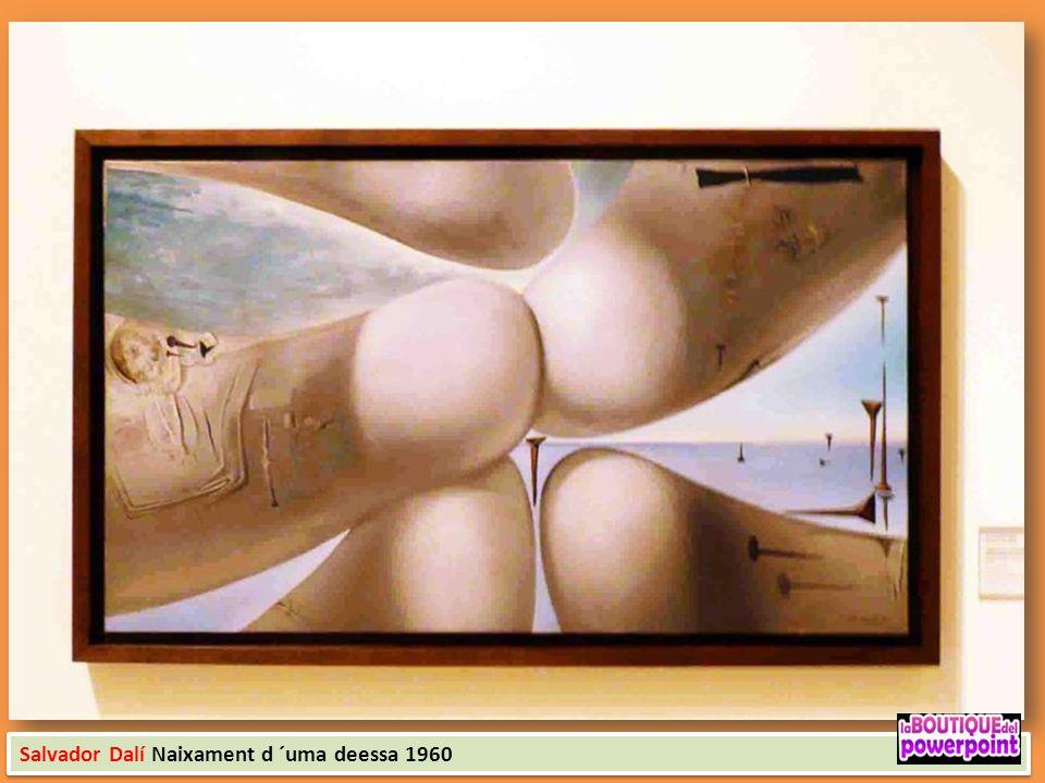 Salvador Dalí Naixament d ´uma deessa 1960