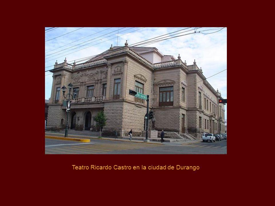 Teatro Ricardo Castro en la ciudad de Durango