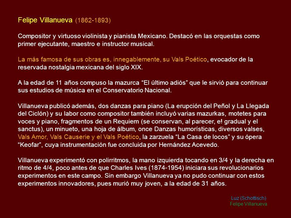Felipe Villanueva (1862-1893)