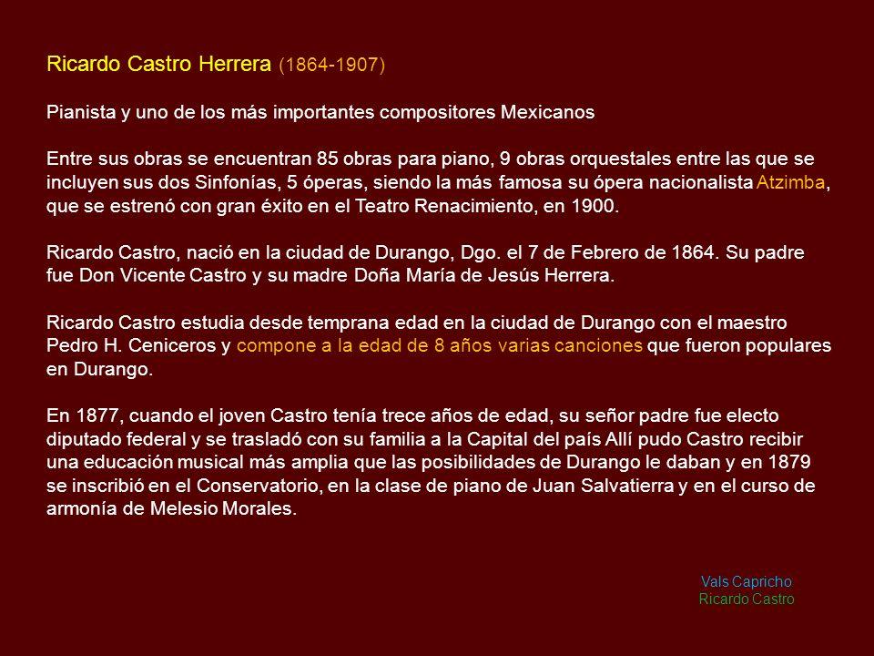 Ricardo Castro Herrera (1864-1907)