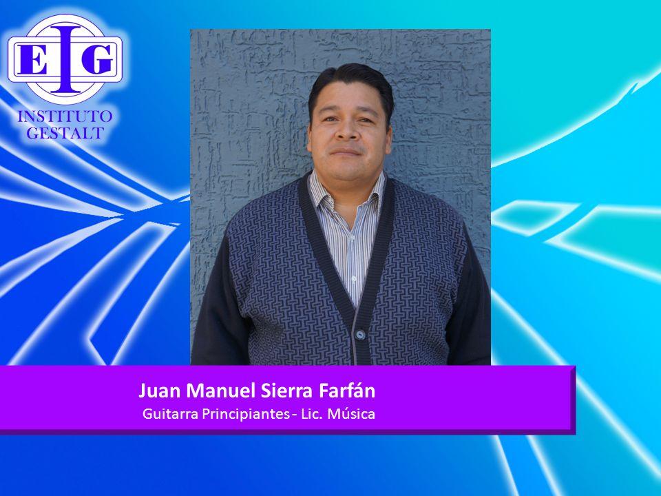 Juan Manuel Sierra Farfán